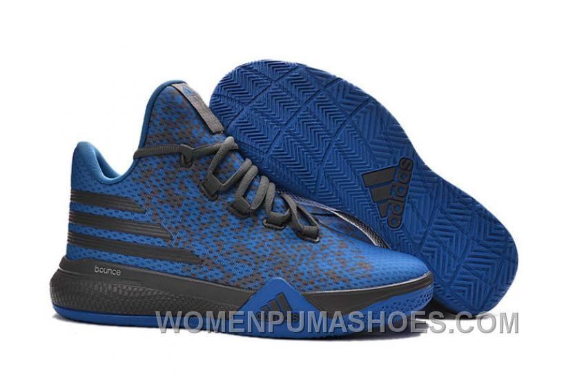 On Adidas D Lillard 2 Blue Dark Grey TopDeals