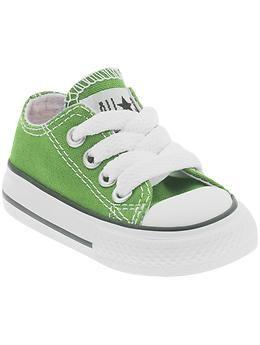 5d8d61568e81 Tenis De Niña · Correr · Zapatos Del Niño · lime green chucks! Zapatos De  Bebé