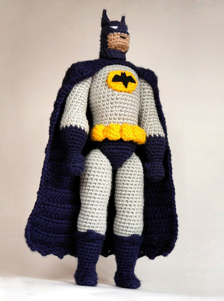Batman crochet amigurumi doll by tinyAlchemy on DeviantArt ...
