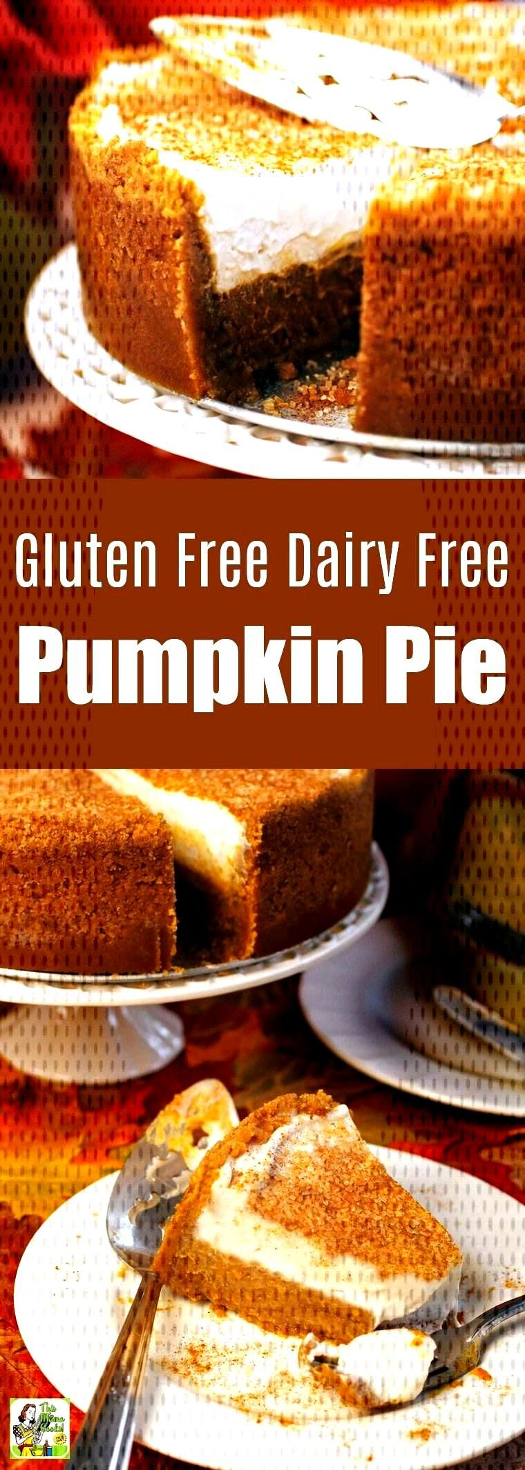 Gluten Free Dairy Free Pumpkin Pie - Food // Cakes + Pies -You can find Pies and more on our websit