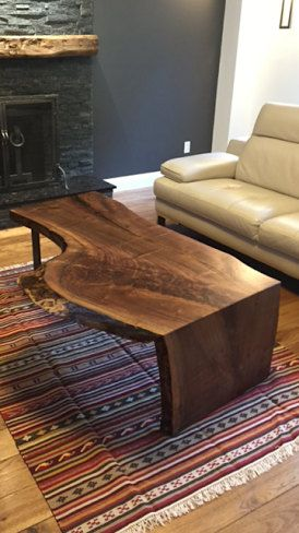 live edge coffee table, wood coffee table, live edge dining table