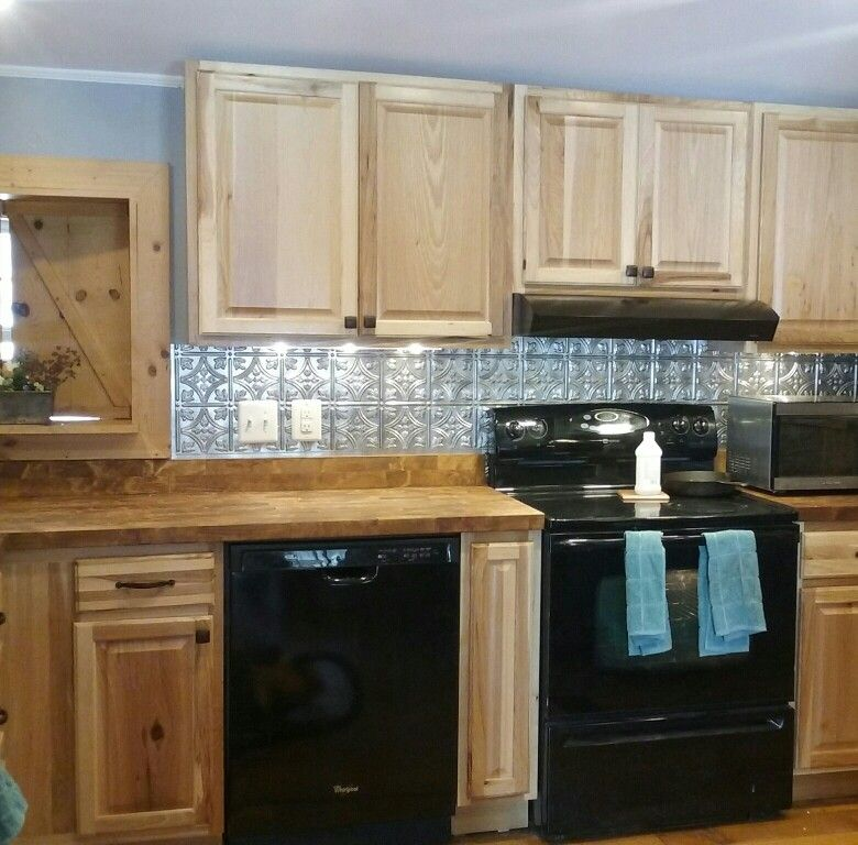 Home Depot Hickory Cabinets - Kitchen Cabinets