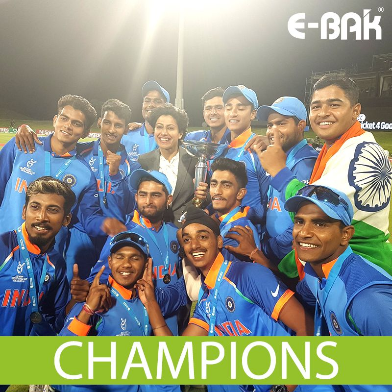 Congratulations To Team India For The Spectacular Win Against Australia In The Under 19 Cricket World Cup Boysinblue U19cw Cricket World Cup U 19 World Cup