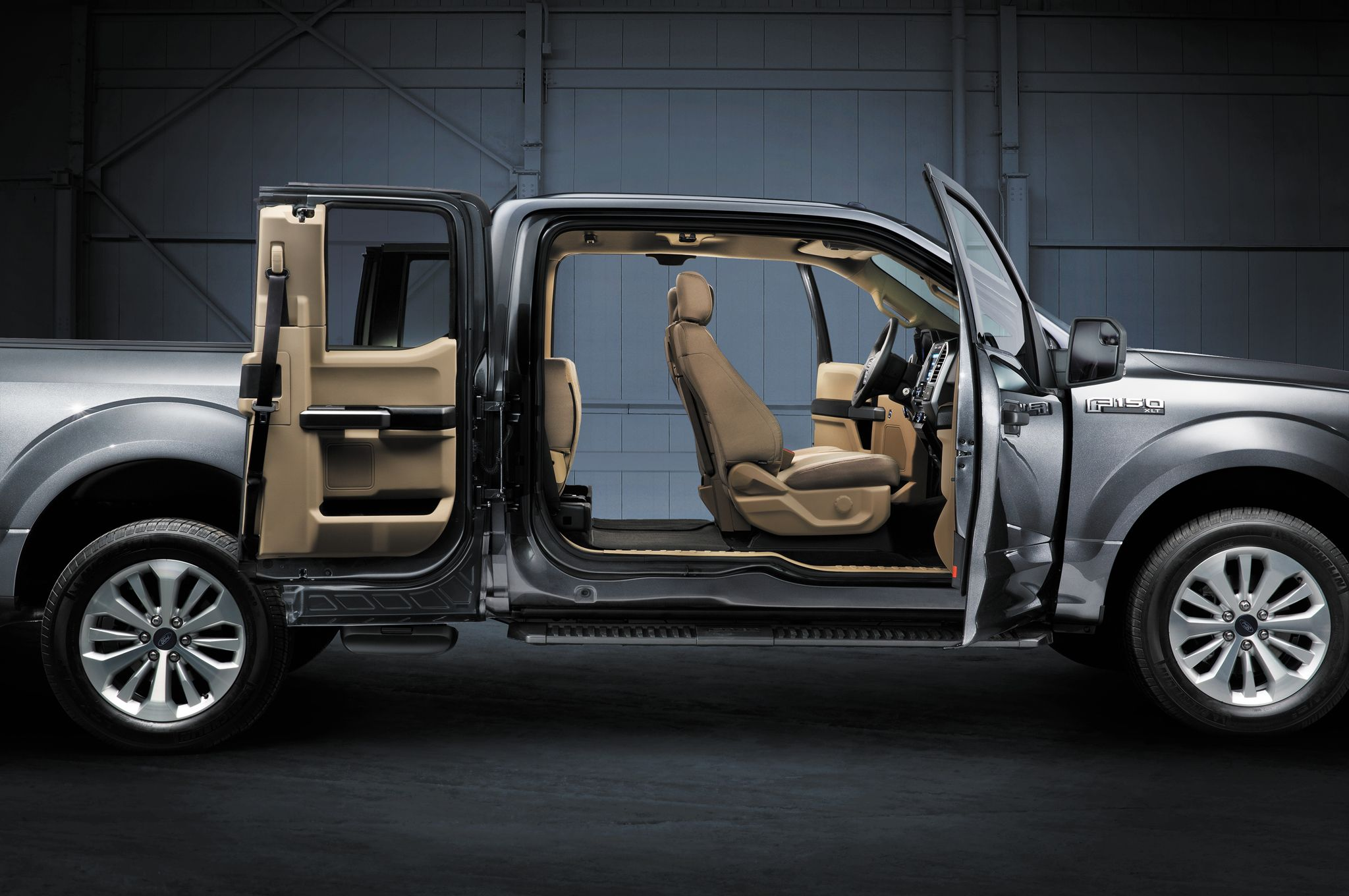 pass through rear seats in the 2015 ford f 150 offer more versatility you