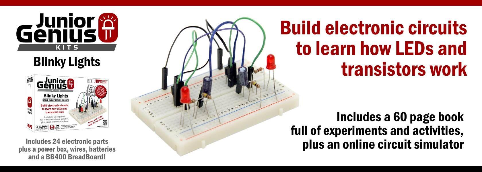 Home Junior Genius Kits Maker Spaces Pinterest Build Electronic Circuit Online