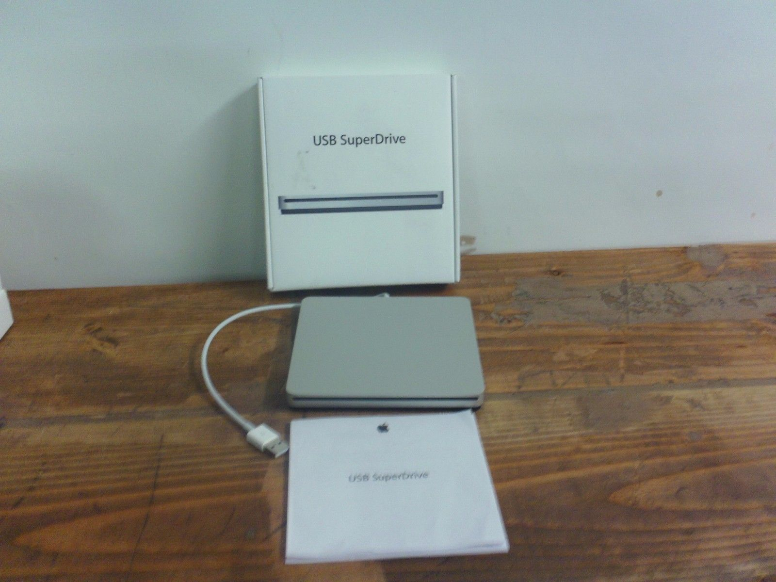CD DVD and Blu-ray Drives 131542: Apple Usb Superdrive Dvd