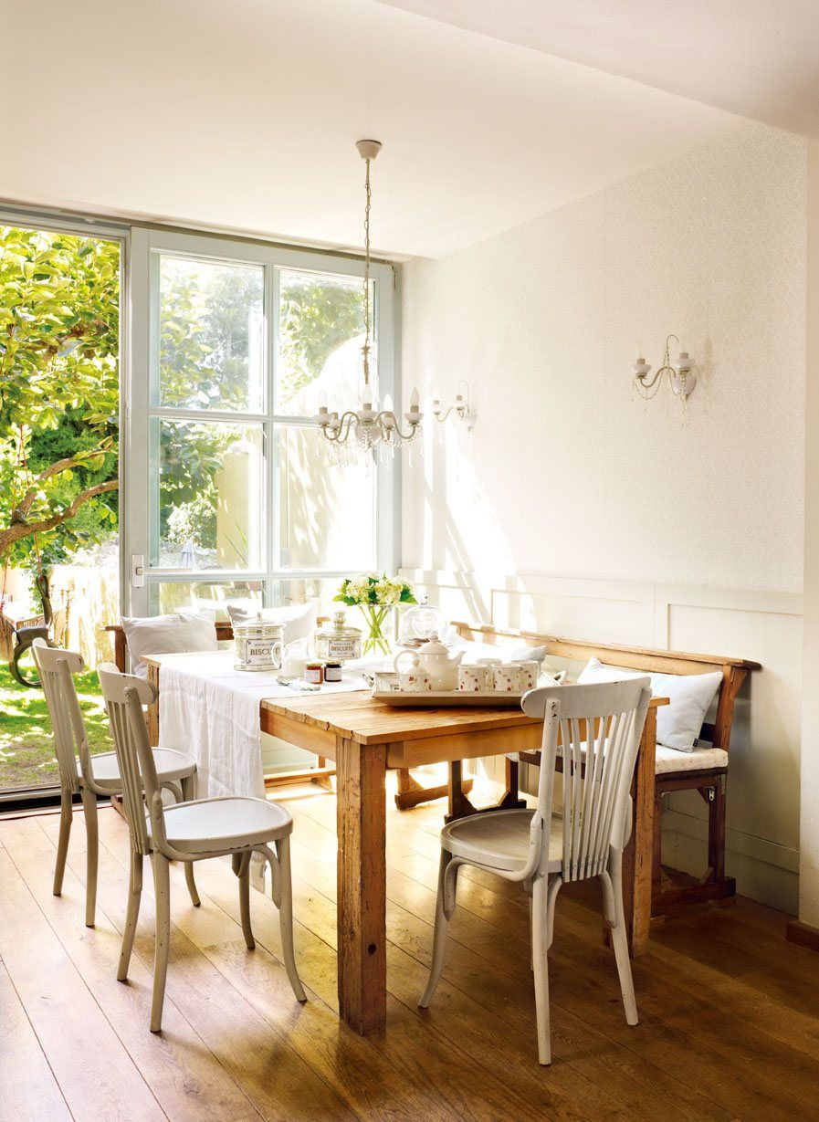 Consejos para decorar el comedor comedores pinterest - Mesas para comedores pequenos ...