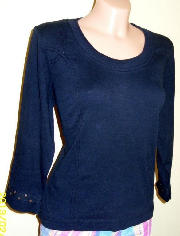Wissmach Bluzka Damska Czarna 3671353760 Oficjalne Archiwum Allegro Fashion Sweaters