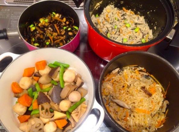 品数が多いのに時短の理由は釈由美子の30分以内で作れる豪華な手抜き料理