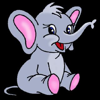 Cute Cartoon Elephants | Baby Elephant Page 1 - Cute Cartoon ...