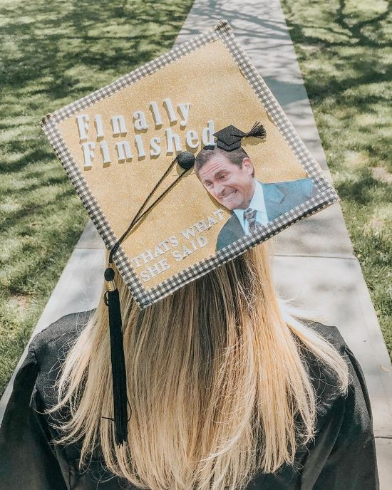 Grad Cap Ideas for People Who Love The Office