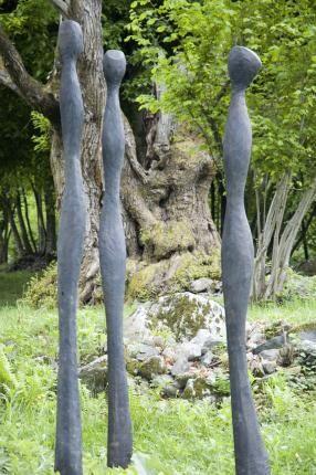 skulptur garten | figuren | pinterest | skulpturen garten, Garten und bauen