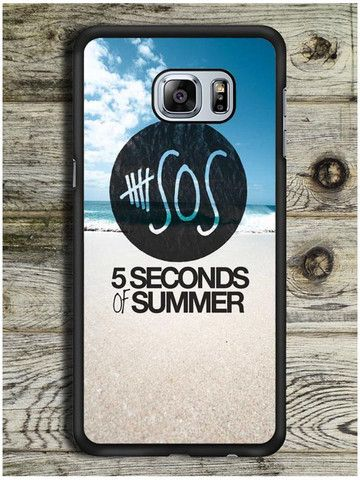 5 Second Of Summer Beach Samsung Galaxy S6 Edge Plus Case