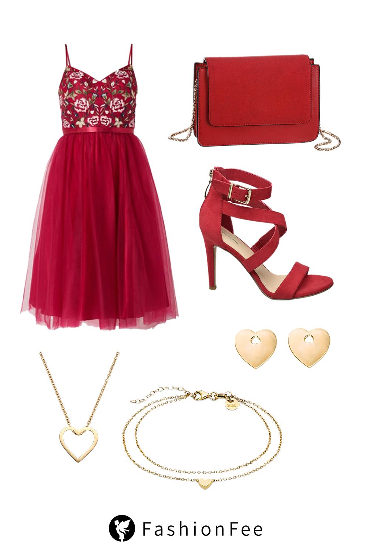 Rotes Abschlussballkleid Mit diesem Outfit sorgt ihr für den WOW ...