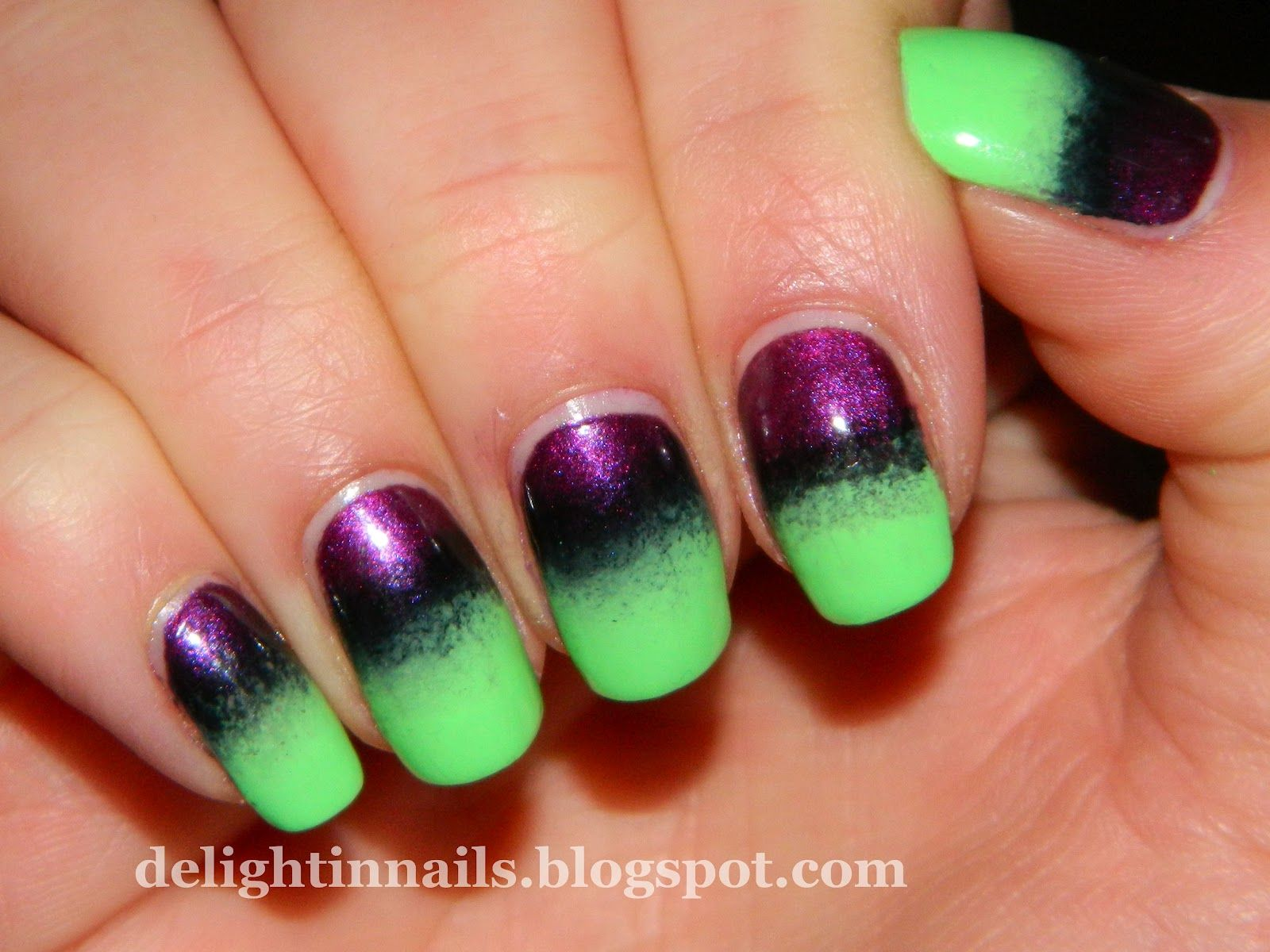 delight in nails: nail-aween nail art challenge - matte dotticure