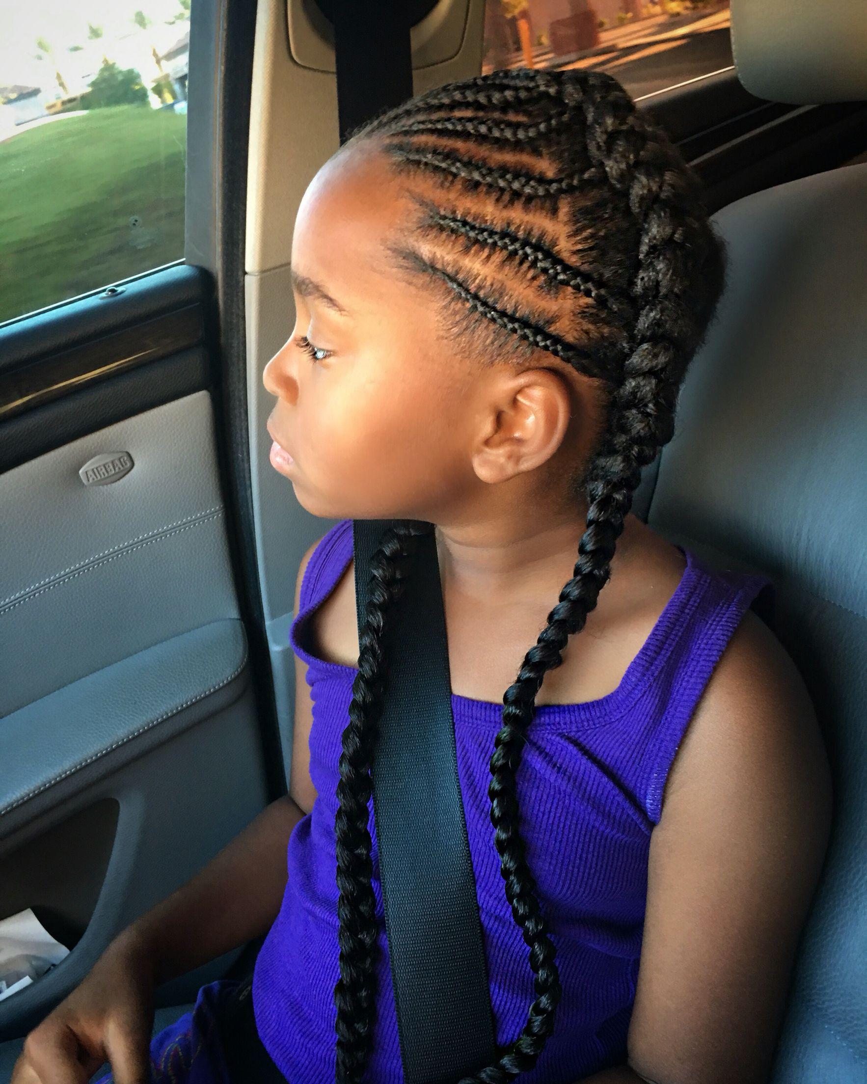 French Braids · Halo, Beehive, Black Girl Hair, Cornrows, Designs, Little  Girl Hairstyles,