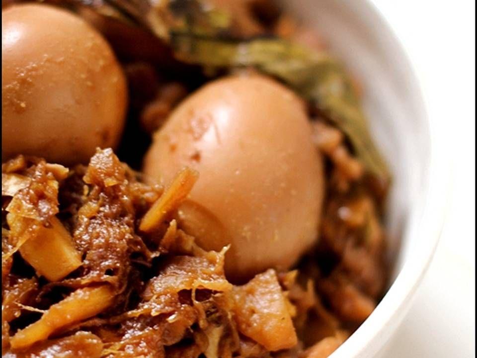 Resep Gudeg Nangka Simpel No Daun Jati Enakkk Oleh Tintin Rayner Resep Resep Makanan Masakan