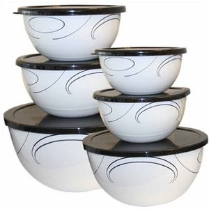 Corelle Simple Lines 12 Piece Bowl Set