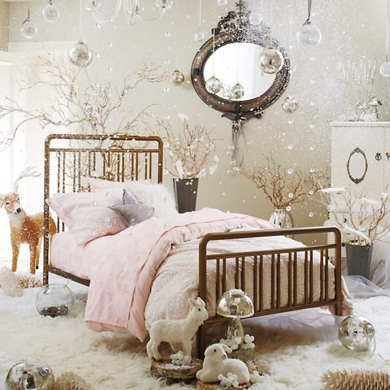 Star Pillow in Girl Bedding | The Land of Nod | bedroom ...