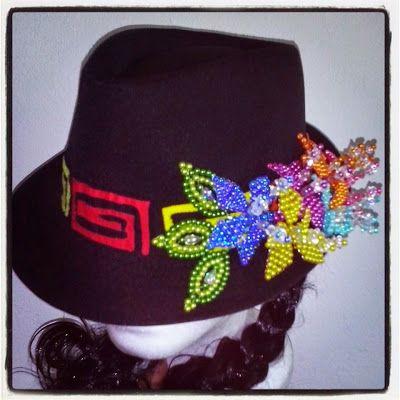 sombreros decorados para ferias - Buscar con Google  2c0fa63c7fb