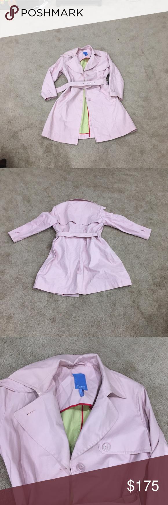 Pale Pink Escada Sport trench coat exquisite in 2020