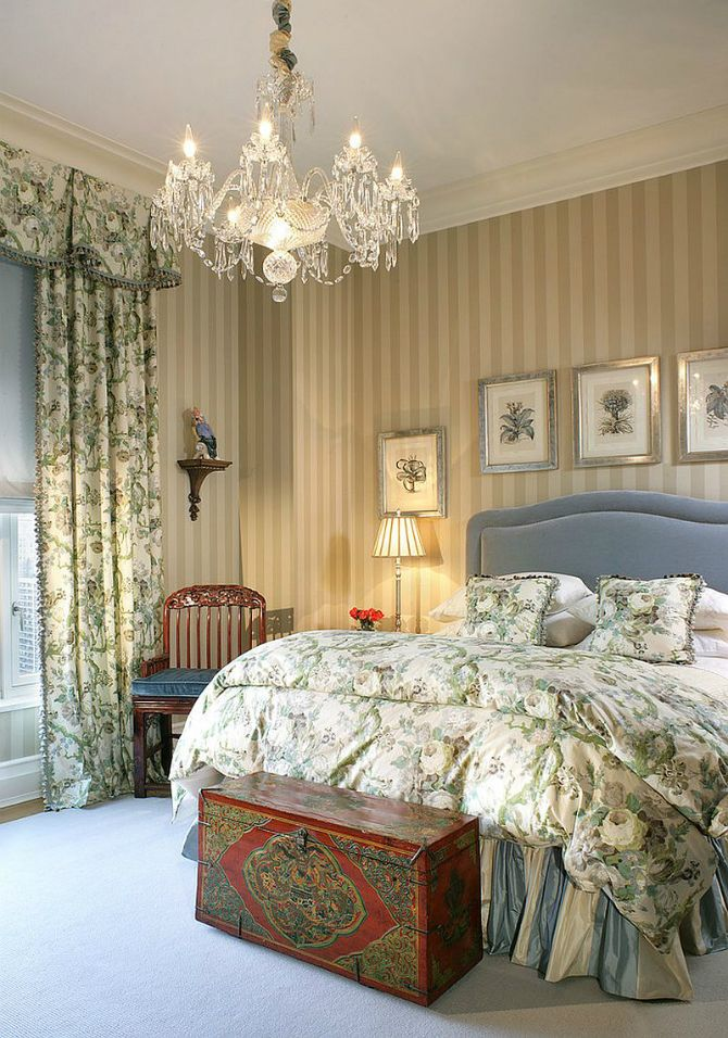 Thinking about Victorian bedrooms means luxury sophistication