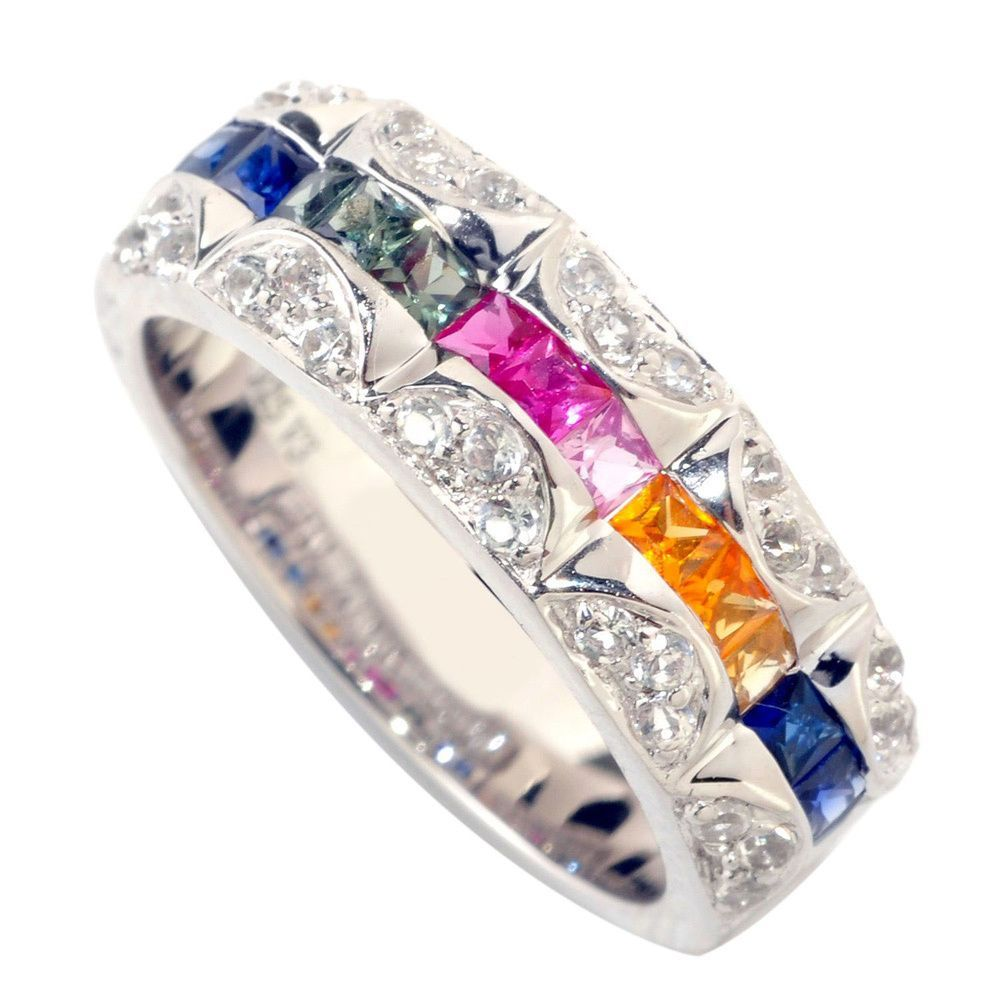 rings lugaro top diamond sapphire ring bridal trilogy corundum jewellery and