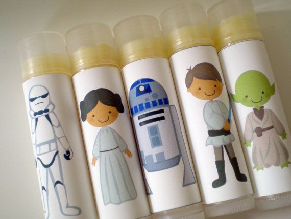 Star Wars Lip Balm Gift Pack Party Favors.