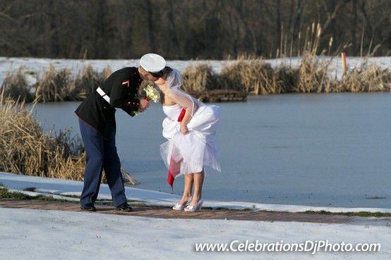 For our military men and women :) #weddingphotography #lehighvalley #berkscounty #centralpa #poconos #celebrationspa #romantic #brideandgroom #militarywedding www.celebrationsdjphoto.com