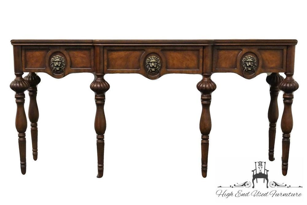 Drexel Heritage Lillian August 71 Sofa Entry Table Made