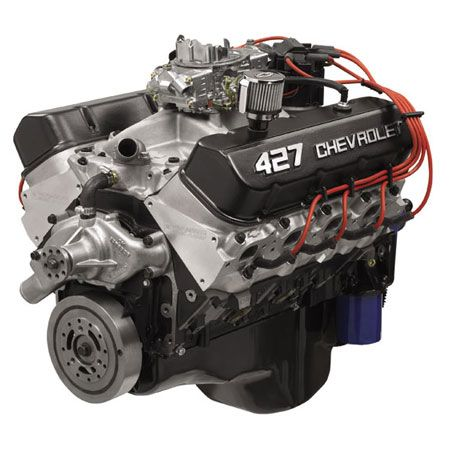450 HP 383 Chevy Stroker Engine   Motor Edelbrock heads (1 2 price - best of jegs blueprint crate engines