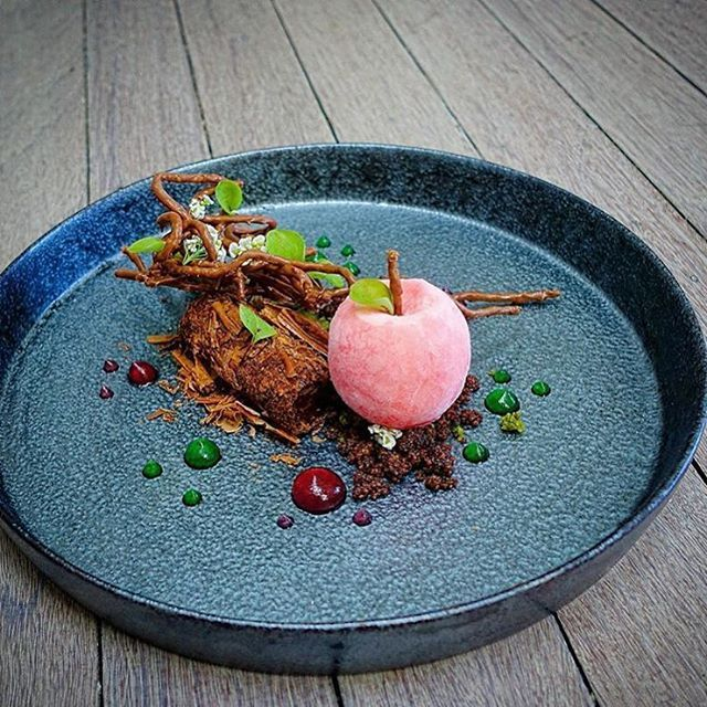 Instagram post by @chefsofinstagram • Feb 2, 2016 at 2:33pm UTC -   16 rustic desserts Plating ideas