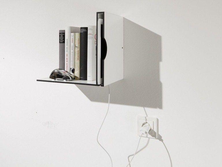 WOODEN WALL SHELF FOR E-BOOK PADNEST BY MÜLLER MÖBELWERKSTÄTTEN | DESIGN MICHAEL HILGERS