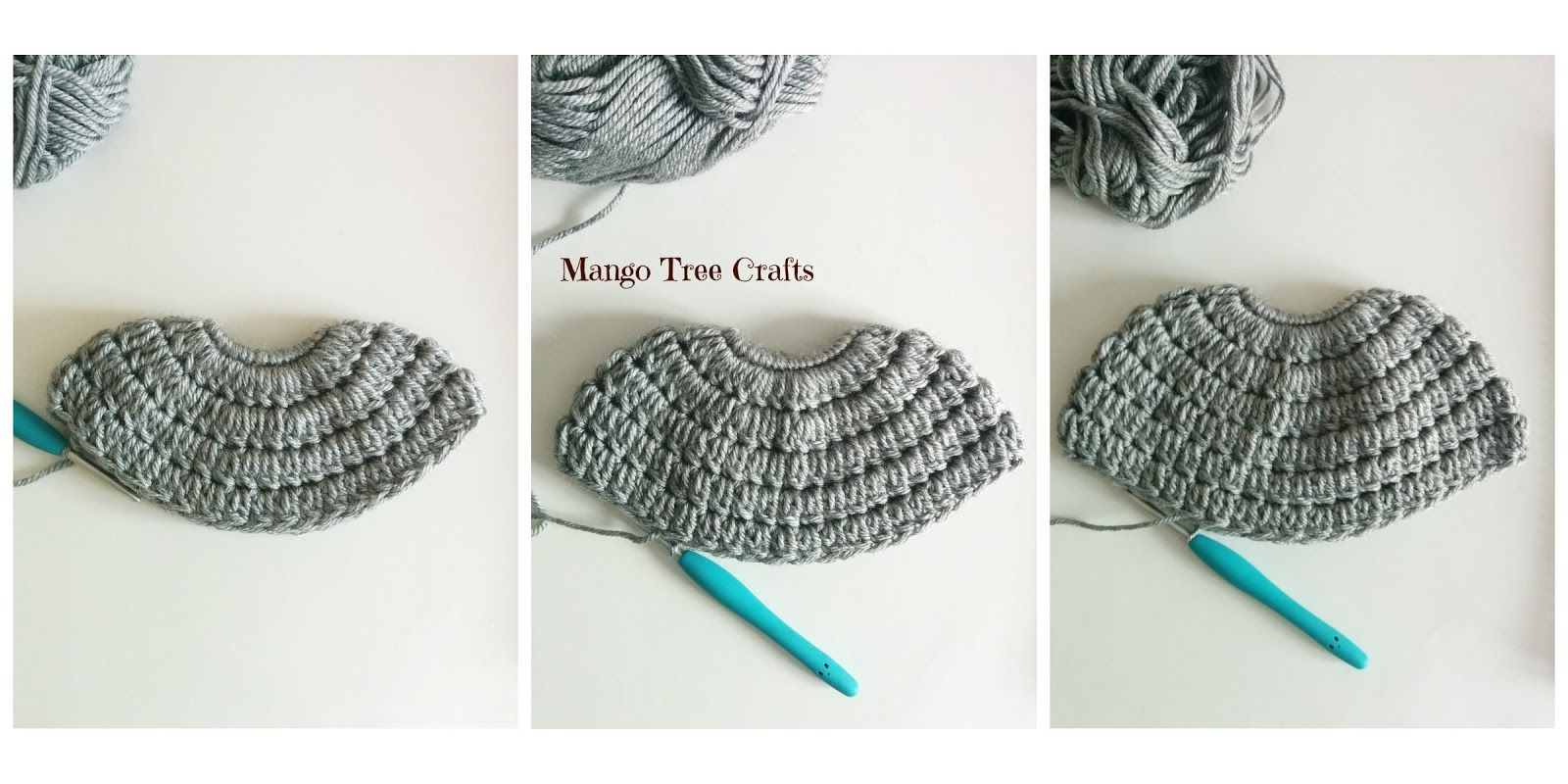 Messy Bun Hat Crochet Pattern Materials used: ⦁ Hair tie about 2 ...