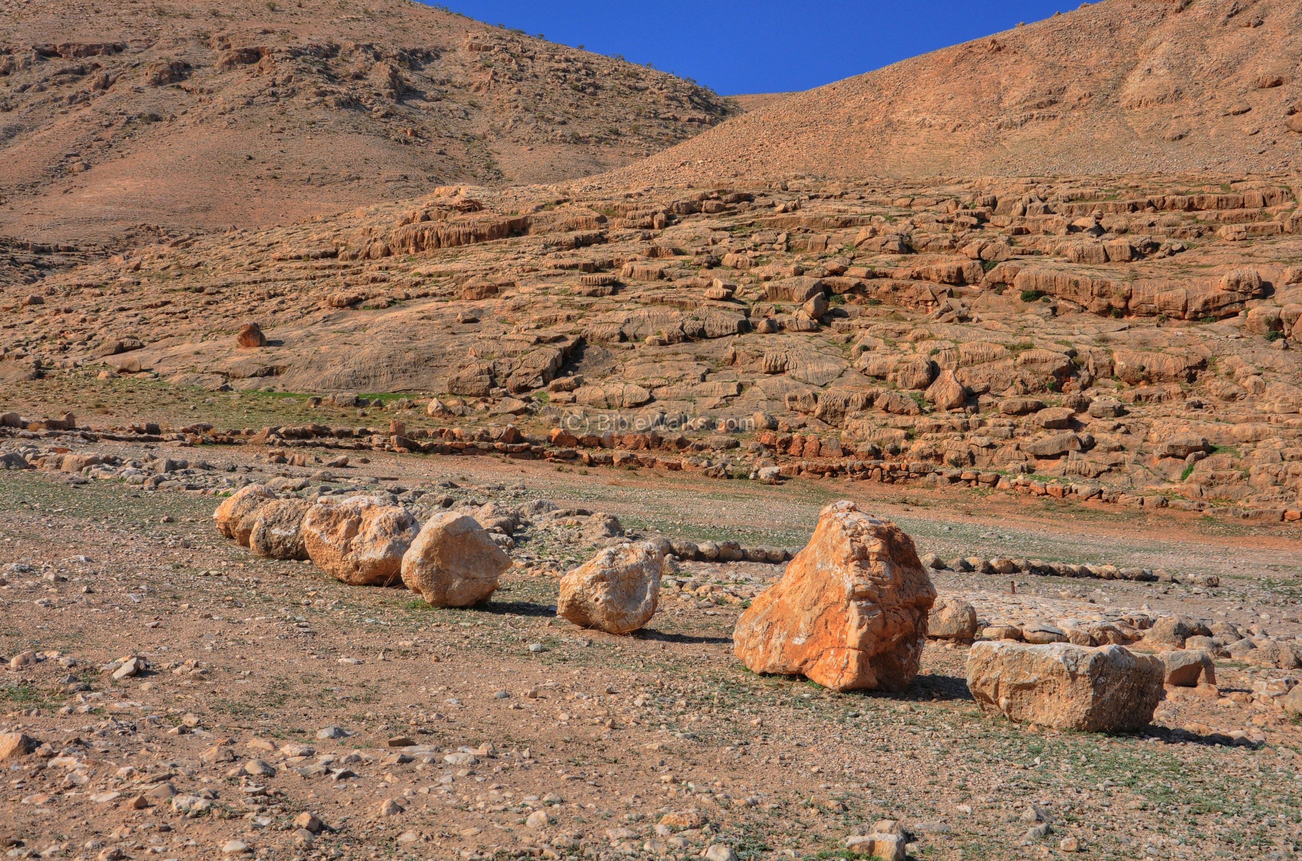 Twelve Memorial Stones So The Israelites Did As Joshua