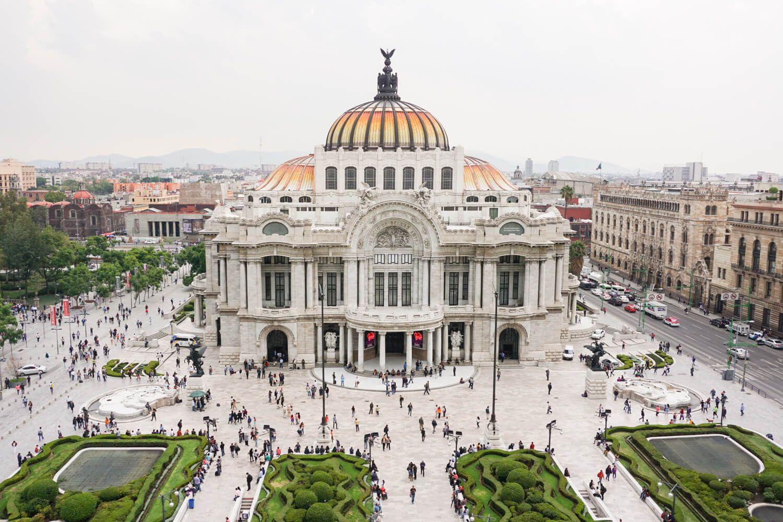 Palacio de Bellas Artes (Palace of the Fine Arts)