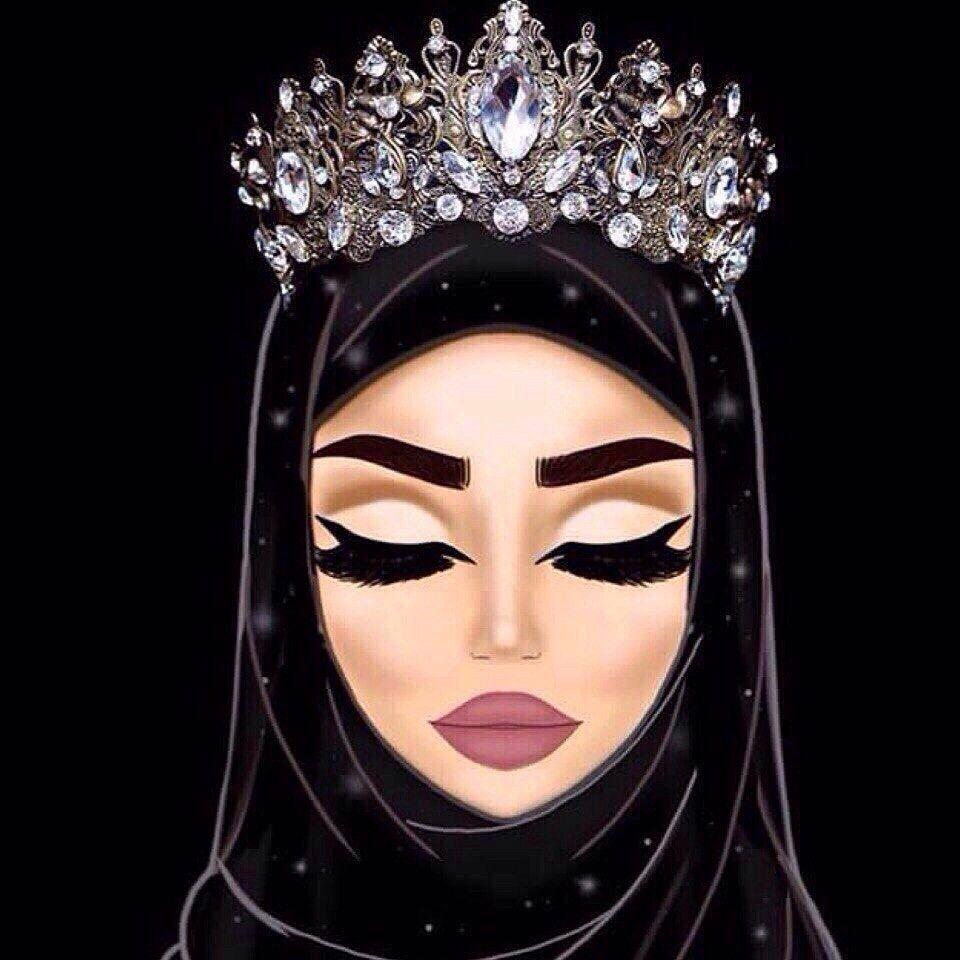 Мусульманка на аву рисунки, фото красивые мусульманки