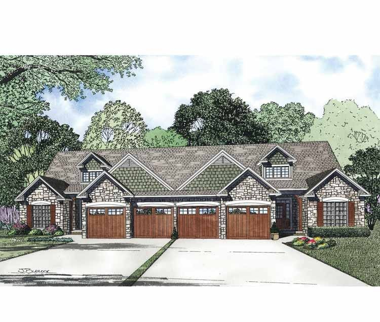 Eplans craftsman house plan four bedroom craftsman for Www eplans com