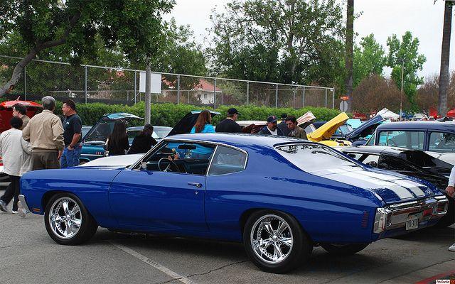 1970 Chevrolet Chevelle SS – blue – rvl