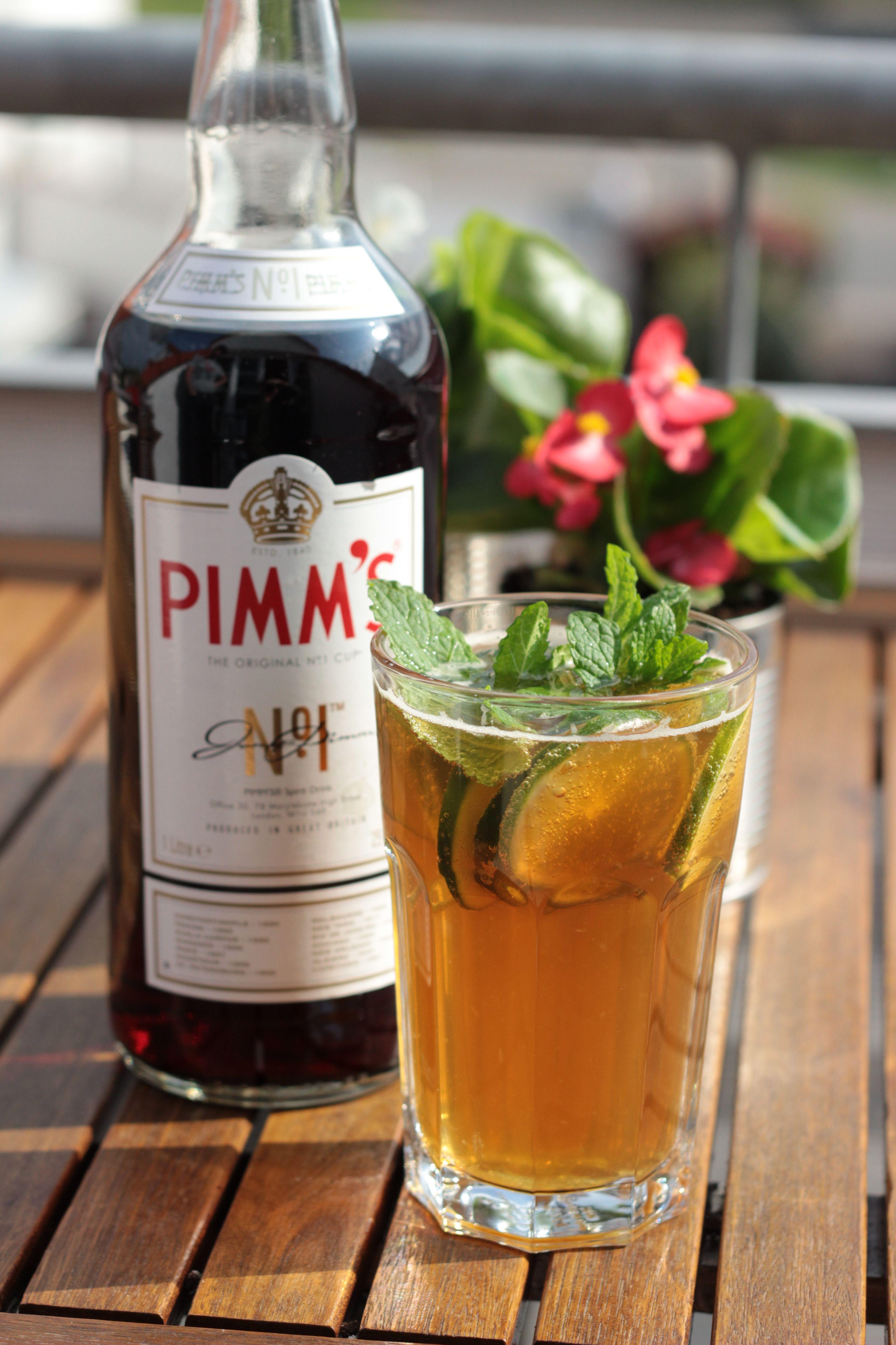 Pimm's No. 1 oder mein Cocktail für laue Frühlingsabende #refreshingsummerdrinks