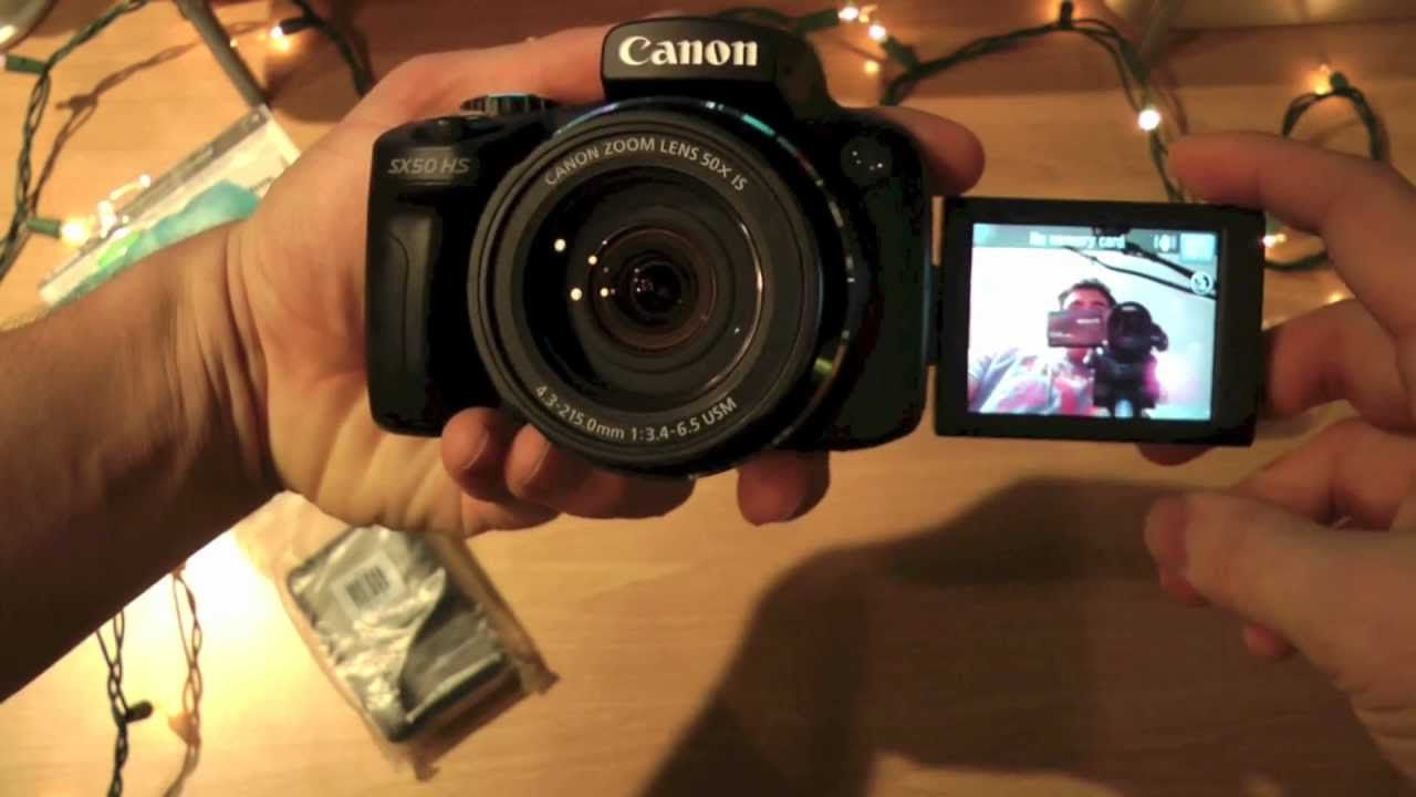 Canon Powershot Sx50 Hs Unboxing Review First Look And Video