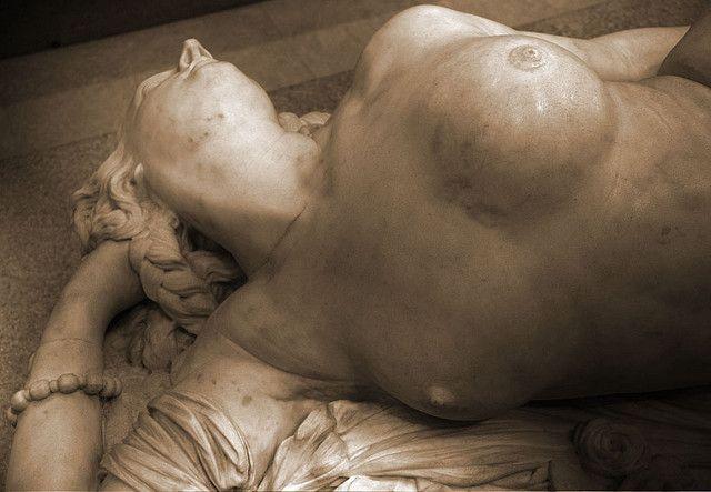 Femme piquée par un serpent  Auguste Clesinger (1847) - Musée d'Orsay
