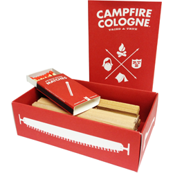 scented matches - campfire cologne