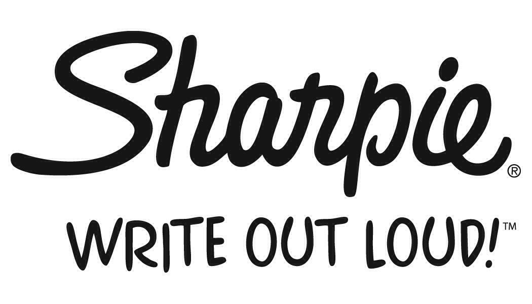 Sharpie logo | Sharpie, Sharpie colors, Record label logo