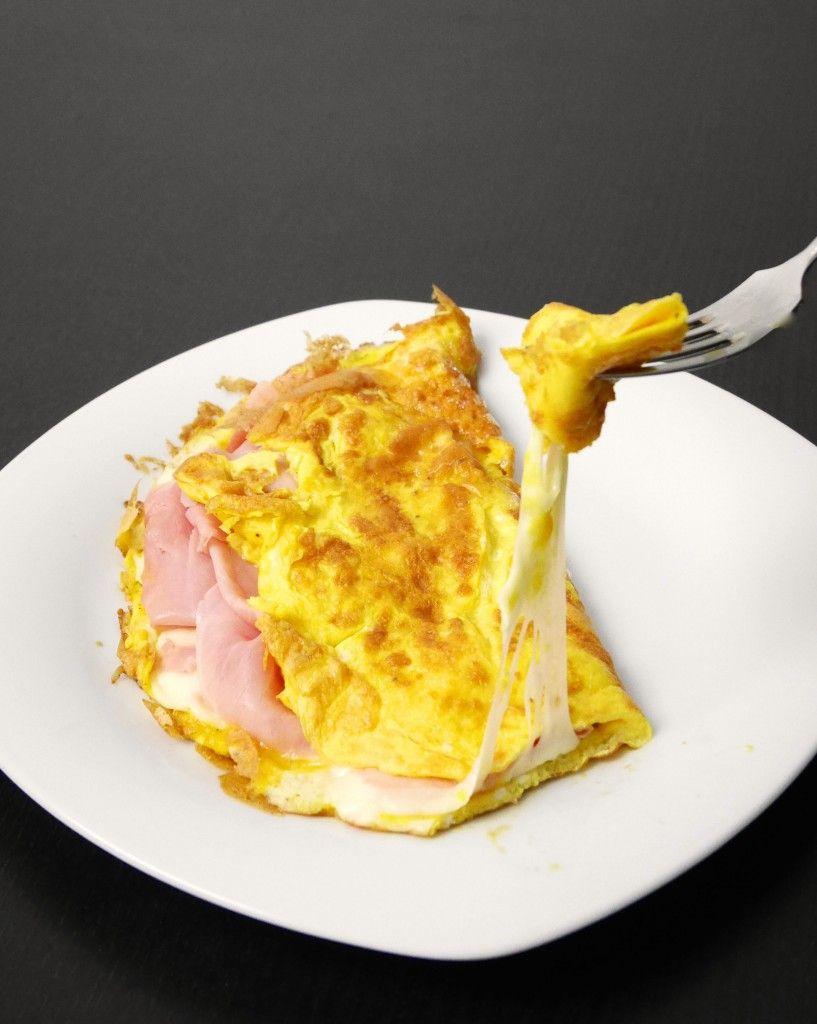 Ricetta Omelette Prosciutto E Funghi.Omelette Prosciutto E Formaggio Mastercheffa Ricette Cibo Cibi E Bevande