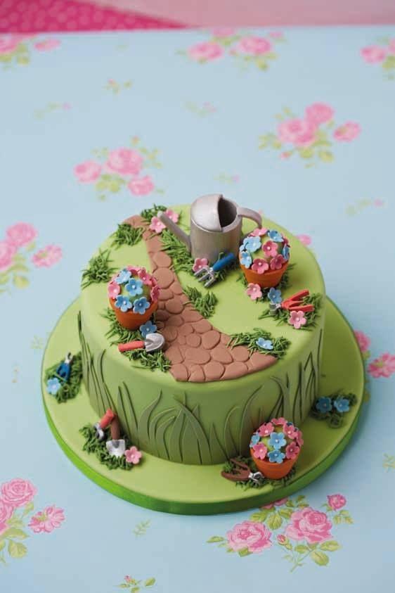Birthday Cake For Mum Cakes Women Garden 60th