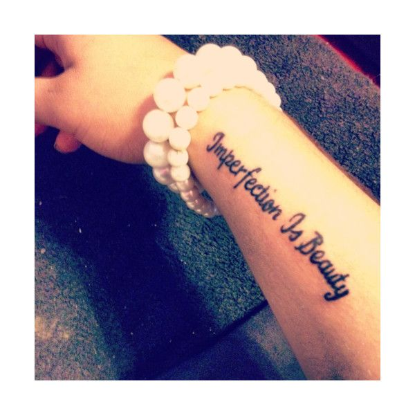 Marilyn Monroe Quote Tattoos Tumblr ❤ liked on Polyvore ...
