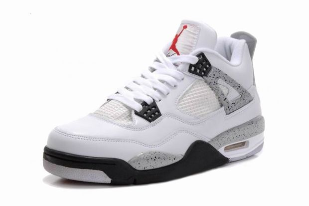 Air Jordan IV - White/Cement Grey Retro 2012