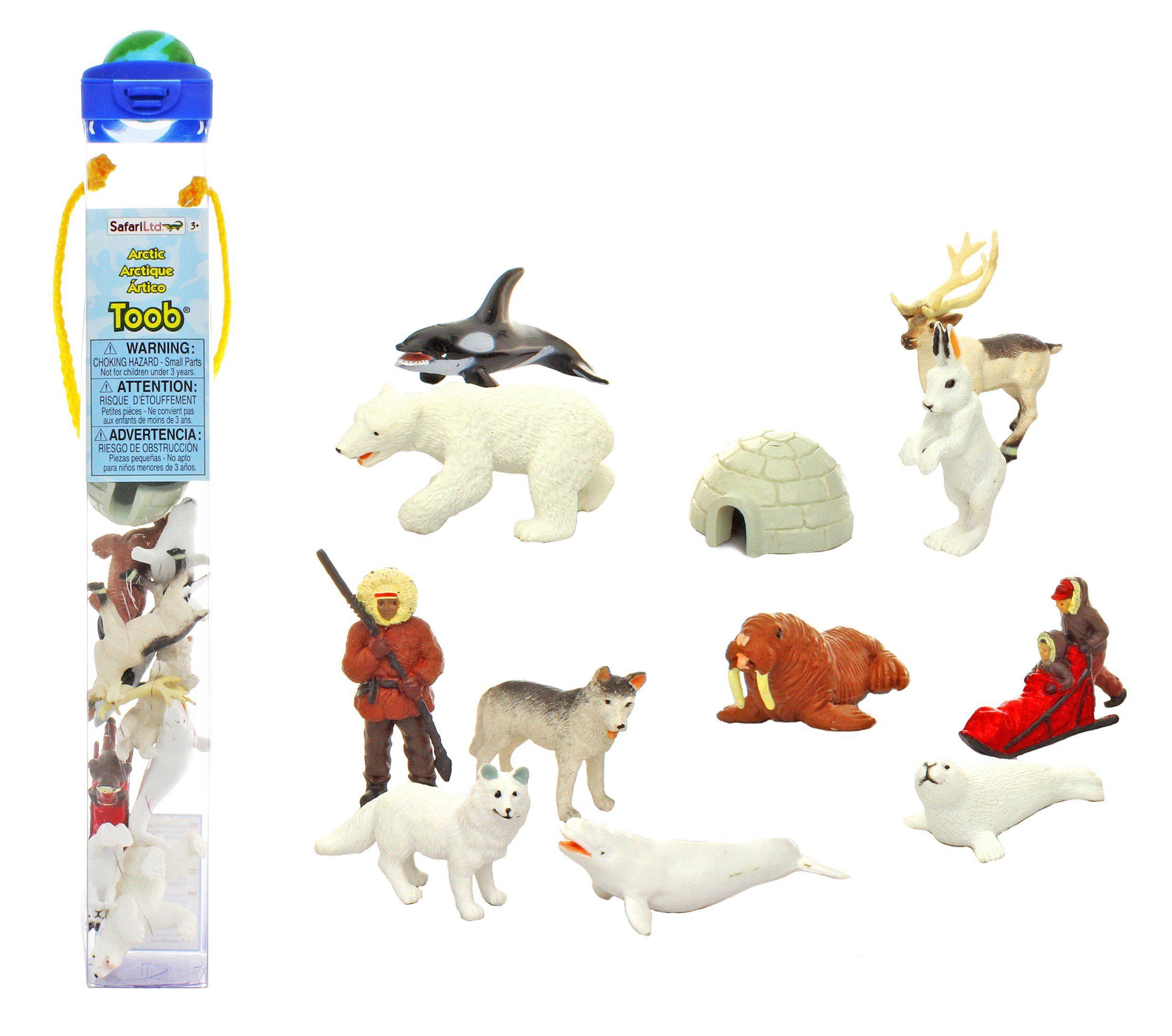 Safari Ltd Arctic Toob Amazon.ca Toys & Games Arctic