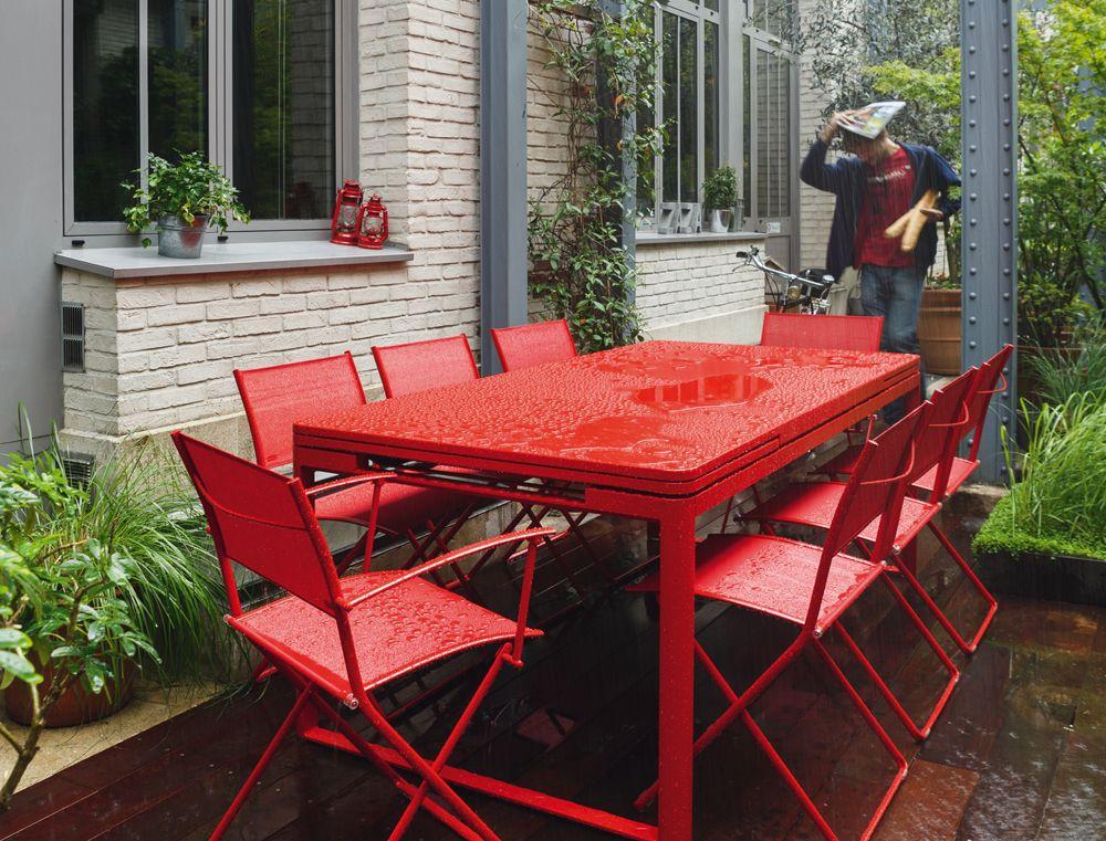 Tisch 71 x 71 cm | Fermob Gartenmöbel | Pinterest | Balconies ...